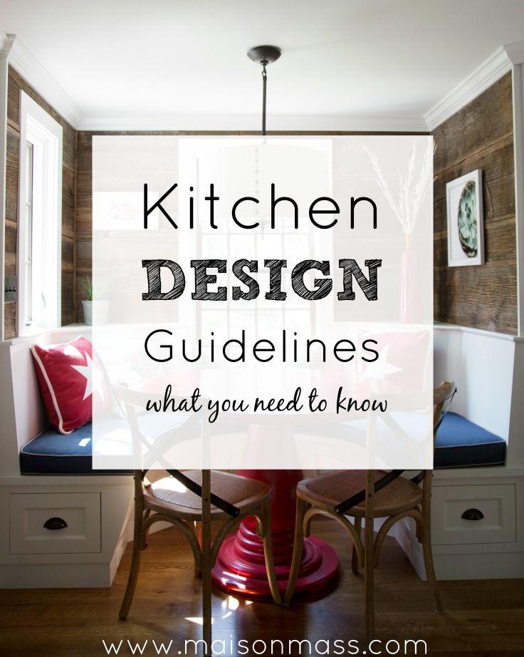 Kitchen Design Guidelines kitchen remodel kitchen layout