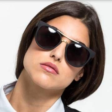 ODIN Black/Smoke Lense Sunglasses
