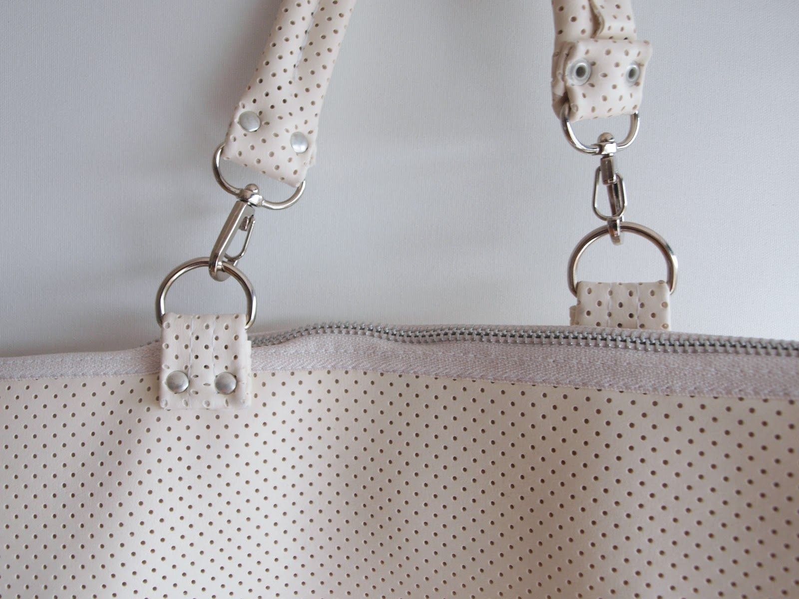 perforated version of the rectangle bag