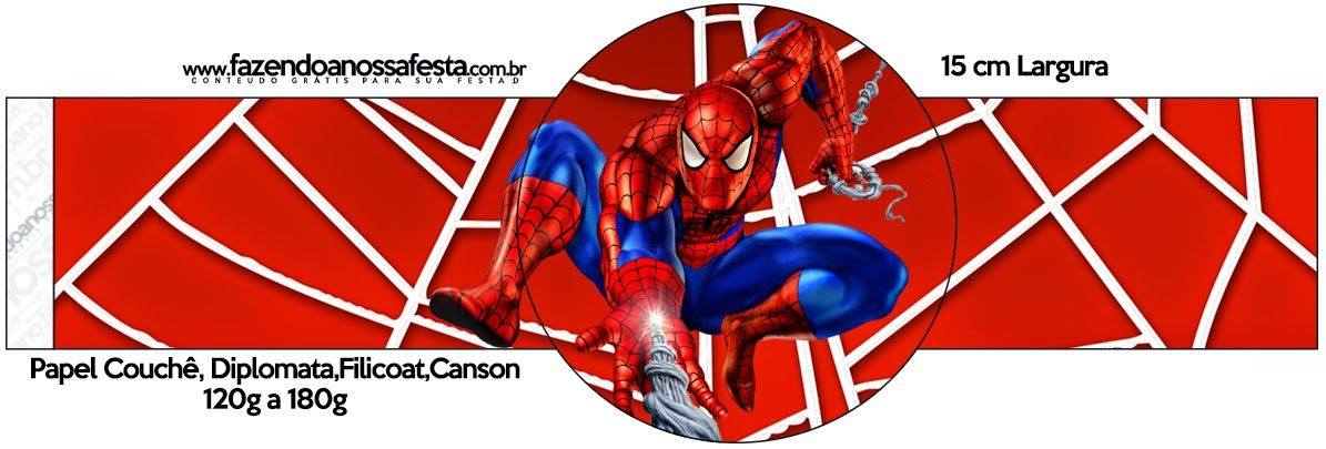 Spiderman: Imprimibles para Fiesta para Imprimir Gratis ...
