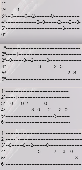 Cancion Pitufos Tab Facil Guitarra Canciones De Guitarra Tablaturas Guitarra Guitarras