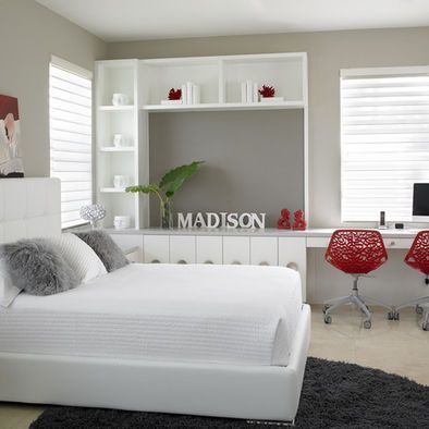Bedroom Teen Girl Modern Design, Pictures, Remodel, Decor and Ideas