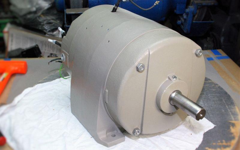 Ge Triclad 3hp Motor Rebuild C1950s The Garage Journal Board Toilet Paper Holder Motor Electric Motor