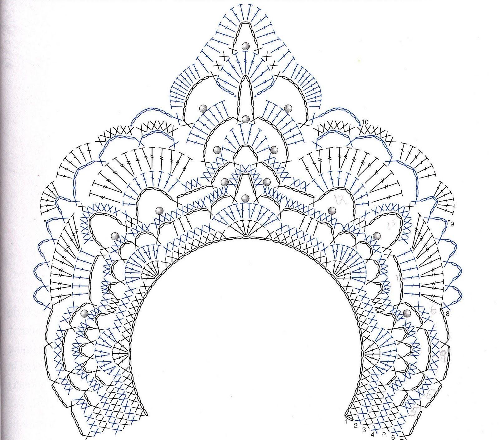 хитрый украшений: ожерелье крючком нагрудник   сделать ручной работы, вязание крючком, ремесла
