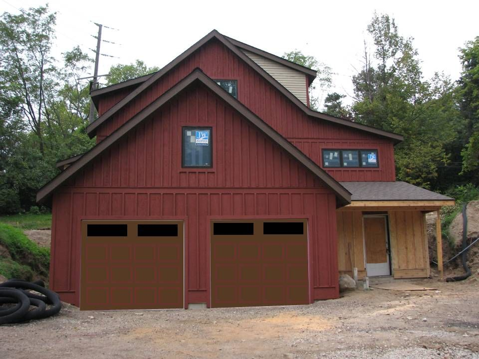 Brown Doors Red Trim Jpg Share From Cm Browser 960 720 Brown House Exterior House Exterior Color Schemes Red Houses