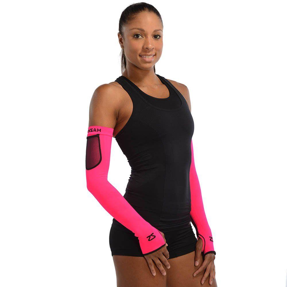 Amazon.com : Zensah Limitless Compression Arm Warmers, Neon Pink, Small/Medium : Sports & Outdoors