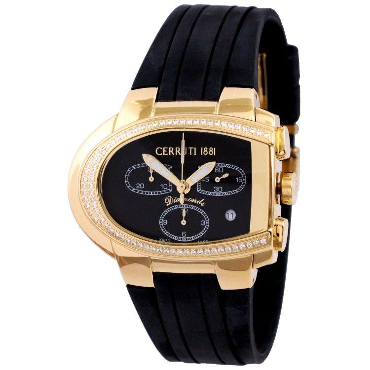 Cerruti Watch Diamond Swiss Made Collection Chrono Ct068341003 Cerruti Watches Diamond Watch Cerruti