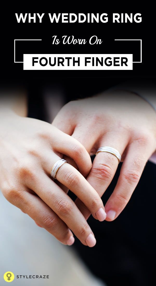 Ever Wondered Why The Wedding Ring Is Worn On The 4th Finger Here S Why Wedding Rings Rings Ring On Left Hand