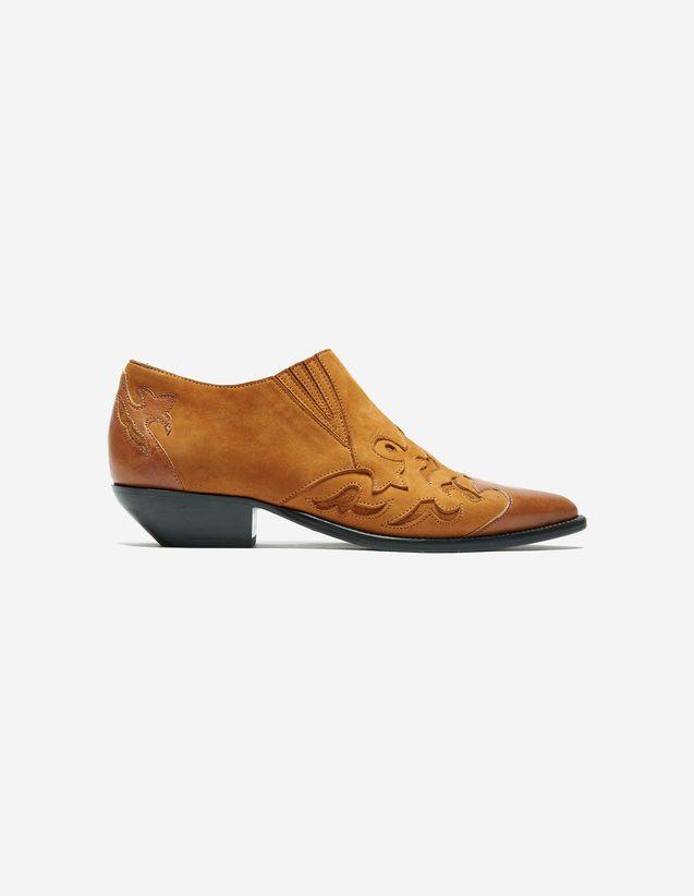 040b60ad51569c Low Boots Azur - Sélection Femme - Sandro Paris | SHOES INSPIRATIONS ...