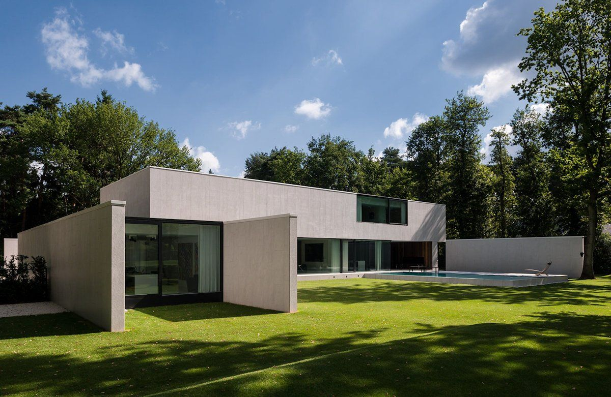 DM Residence by CUBYC Architects | LIVING BAUHAUS House | Pinterest ...