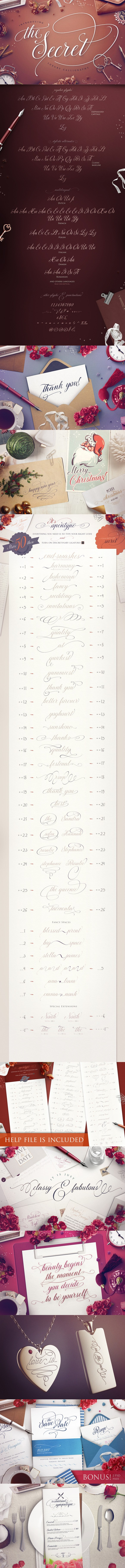 cursive fonts for wedding cards%0A Calligraphy alphabet    Mondeen condensed  Fonts