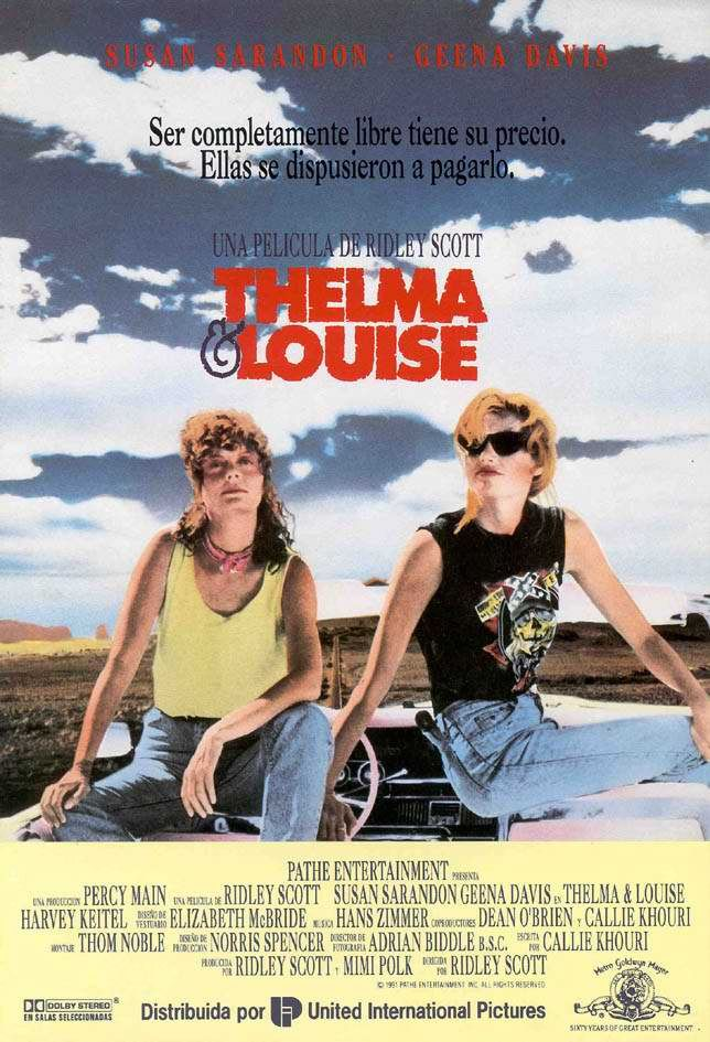 Thelma Et Louise Film : thelma, louise, Thelma, Louise, Louise,, Classic, Movie, Posters,, Movies