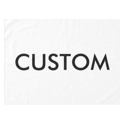 custom personalized tablecloth blank template zazzle com create rh pinterest co uk