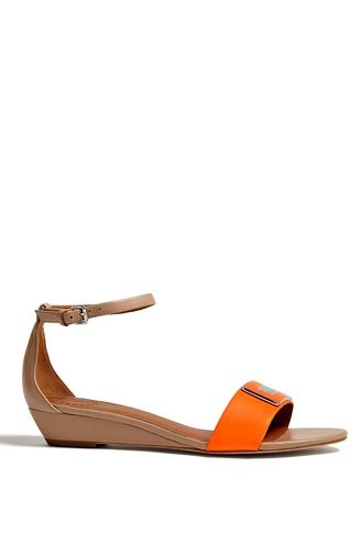 Peaces Flat Wedge Sandals by Marc by Marc Jacobs | Apprl - Social Shopping