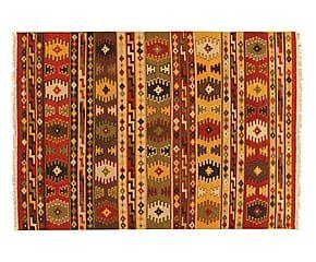 Tappeto kilim in lana indiana Kusuma - 300x200 cm