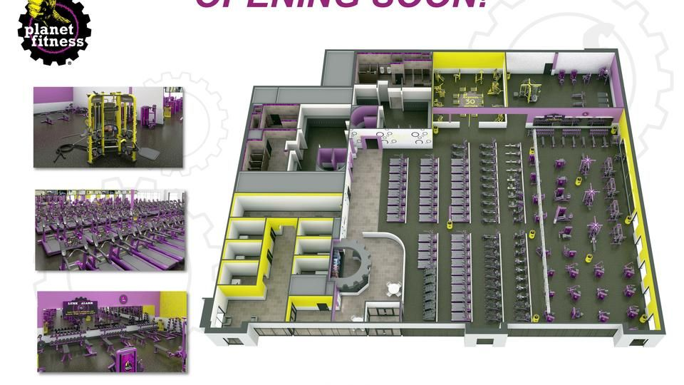 Mundelein Il Planet Fitness Planet Fitness Workout Floor Workouts Floor Layout