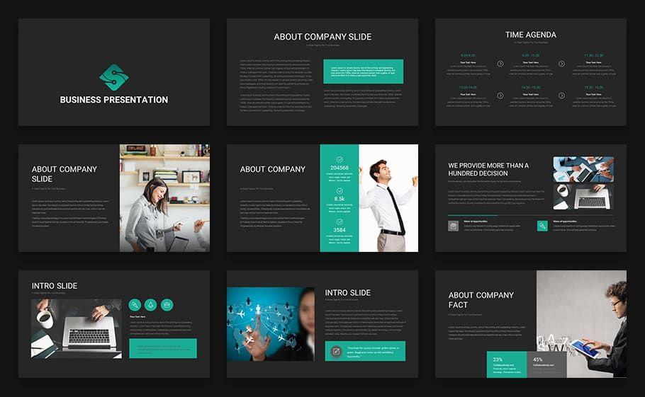 Modern B2b Marketing Plan Template Marketing Plan Template Business Presentation Templates Business Presentation