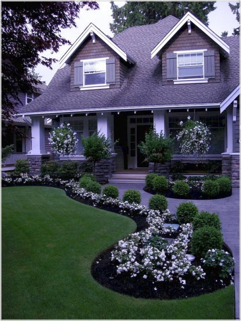 40 beautiful inspiring front yard landscaping ideas outdoor all rh pinterest com