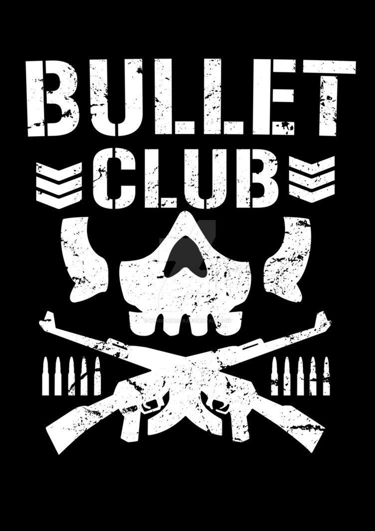 I Used Adobe Illustrator Amp Photoshop For Re Created In High Quality The Bullet Club Logo Bullet Club Logo Njpw Club