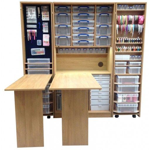 Foldaway Deluxe The Watersmeet Office Storage Furniture Craft Storage Box Craft Cupboard