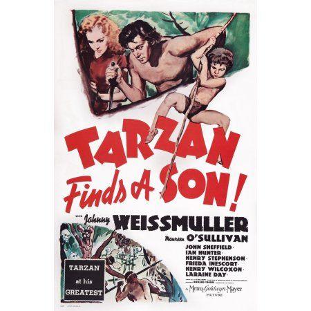 Tarzan Finds A Son U Canvas Art - (24 x 36)