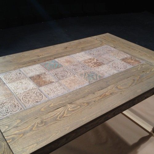 diy tile patio table top interiors furniture diy dining table rh pinterest co uk