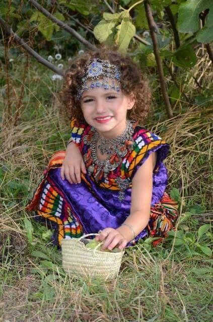 Tenue kabyle médium en 2019 Robe kabyle moderne 2017
