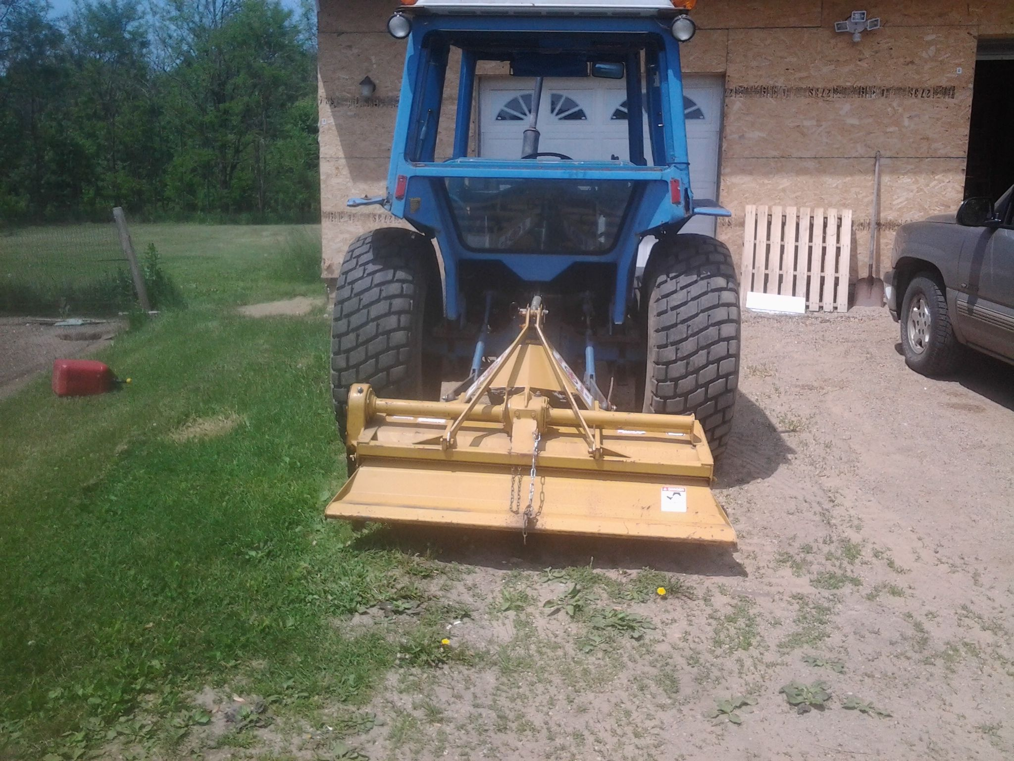 My Ford 2600 And King Kutter 5 Foot Rototiller Ford Tractors New Holland Tractor New Holland