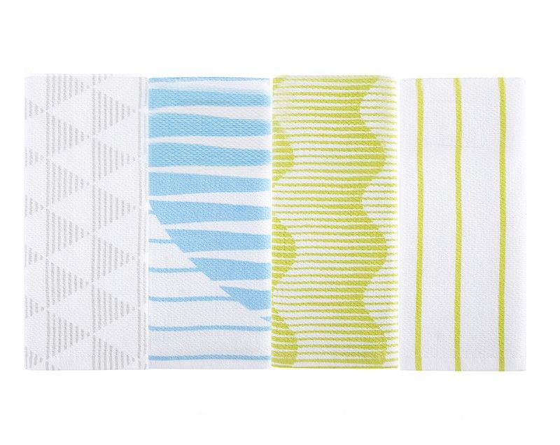 Why Be Dull When Dish Duty Can Be As Dazzling As Your Glassware? Complement  Any Kitchen With This Modern Yet Conscientious Dish Towel That Adds Color  And ...