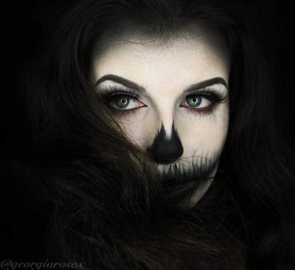 5 Favorites Spooky Halloween Makeup Transformations