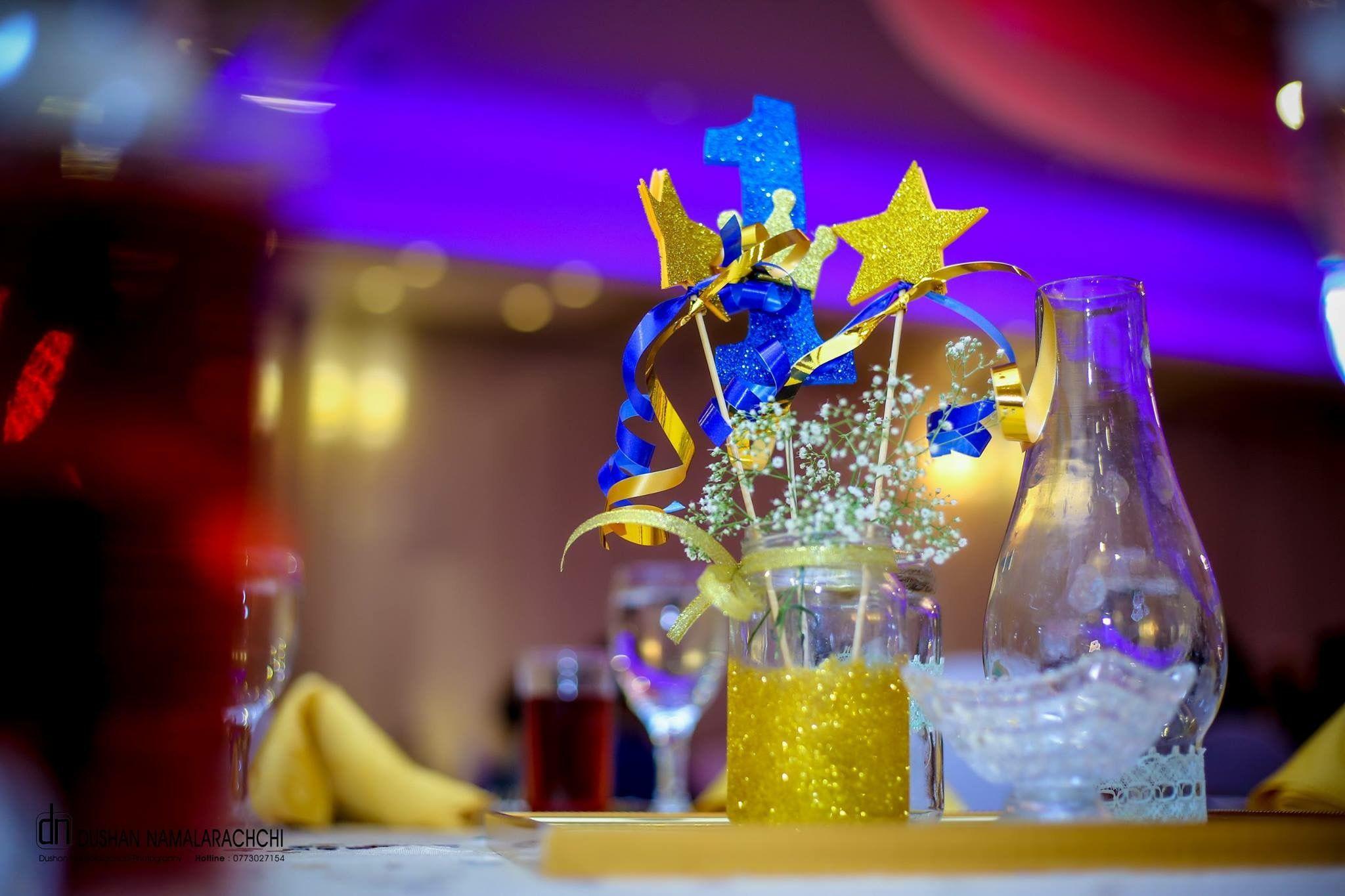 royal prince themed 1st birthday table centerpiece party themes rh pinterest com