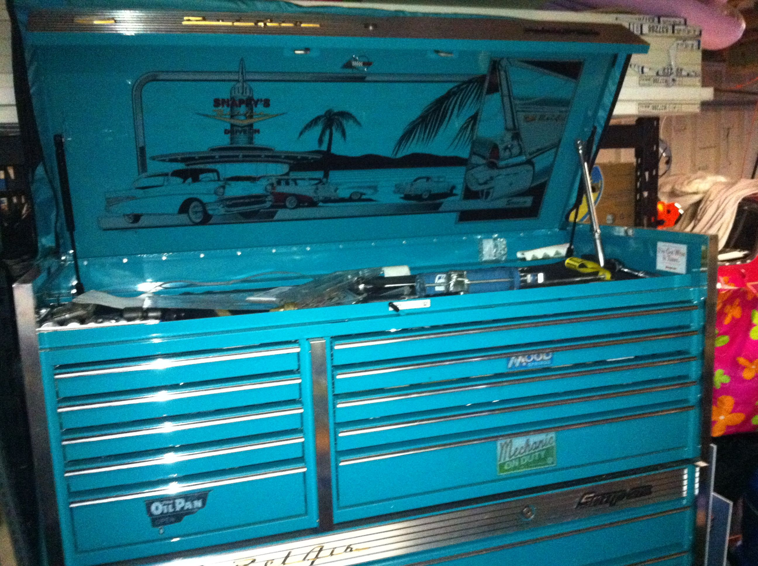 57 bel air snap on tool box ford truck club gallery tools tool rh pinterest com