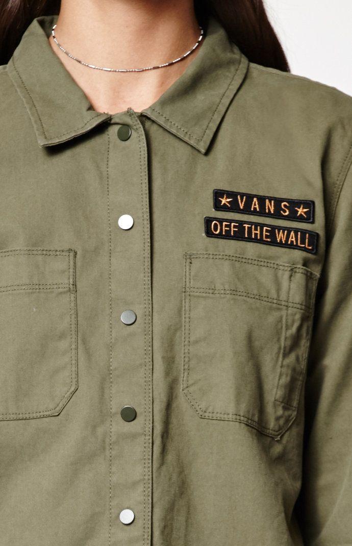 Drop In Dropout Button-Down Shirt
