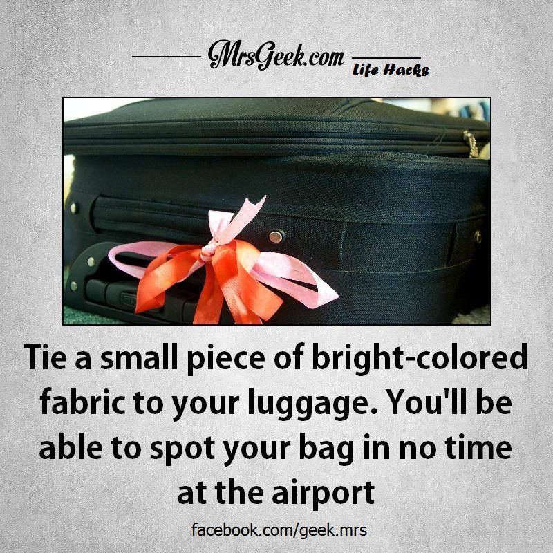 How to spot your luggage fast at the airport ....