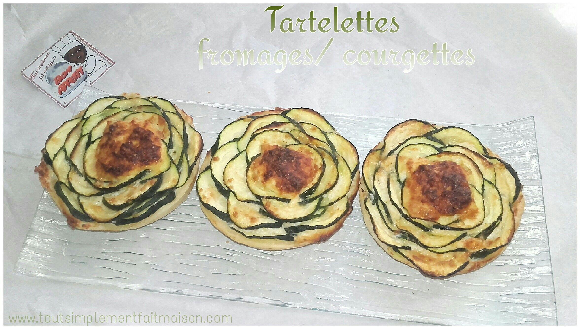 Tartelettes fromages/courgettes   Recette par ici⤵  http://www.toutsimplementfaitmaison.com/2016/05/tartelettes-fromages-courgettes.html