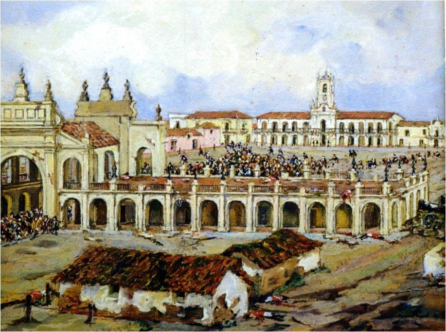 Resultado de imagen para plaza de la victoria buenos aires 1810