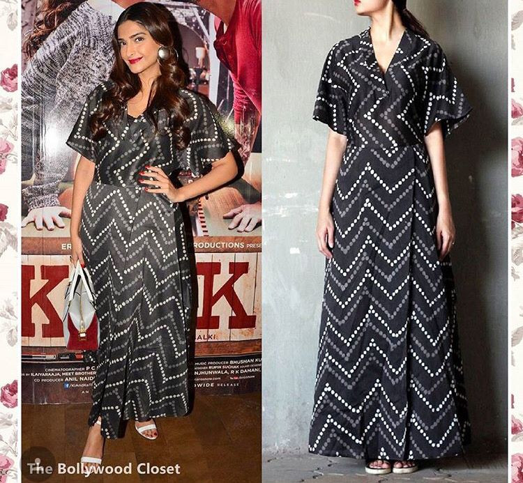 Sonam Kapoor # bungalow 8# day out look# Bollywood # Indian fashion