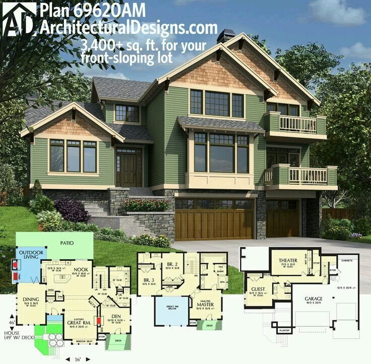 Architectural Designs House Plan is perfect for