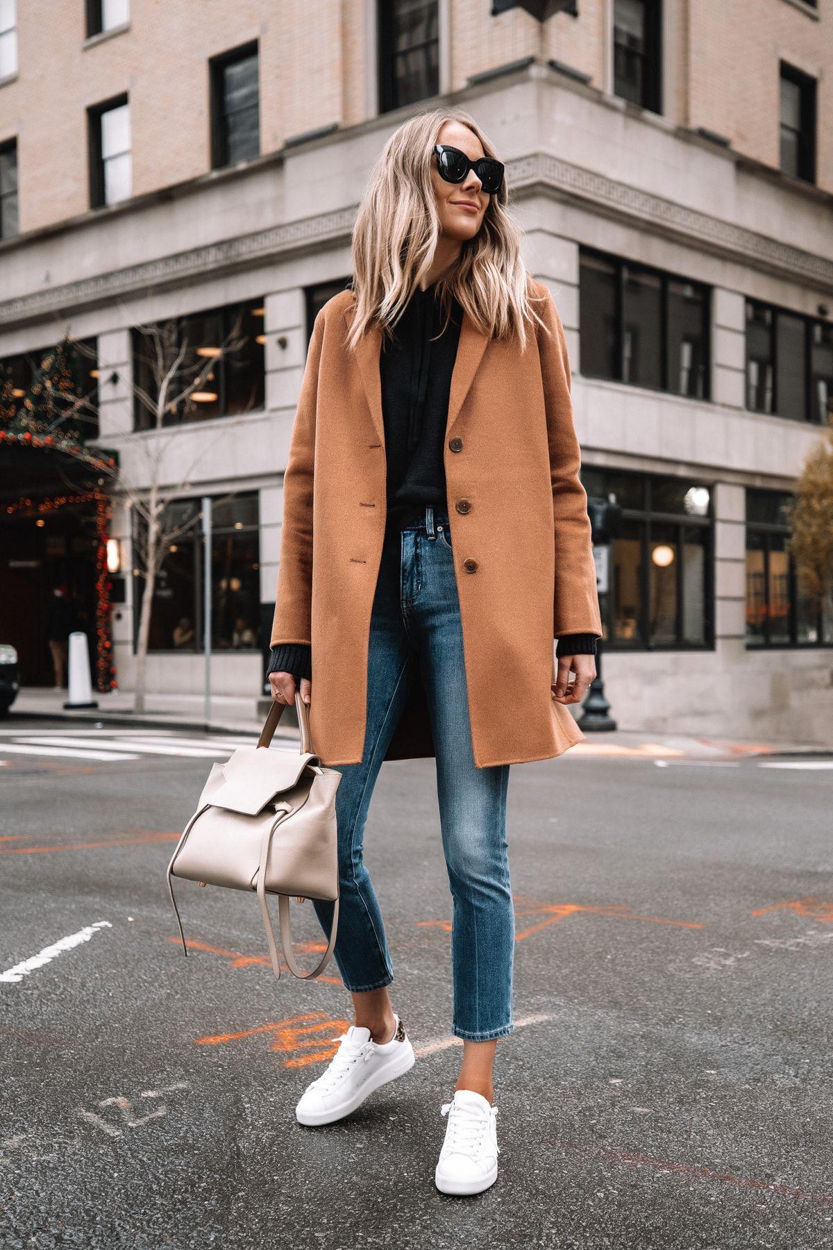 Camel Coat, but Keep it Casual | Fashion Jackson