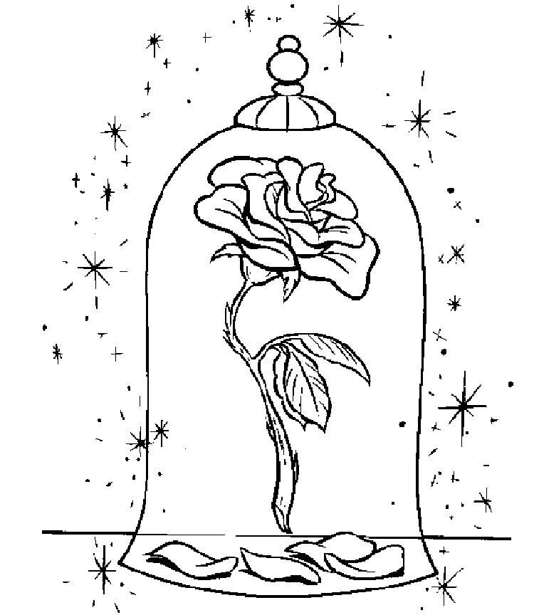 Christmas Rose Coloring Pages   Rose coloring pages ...
