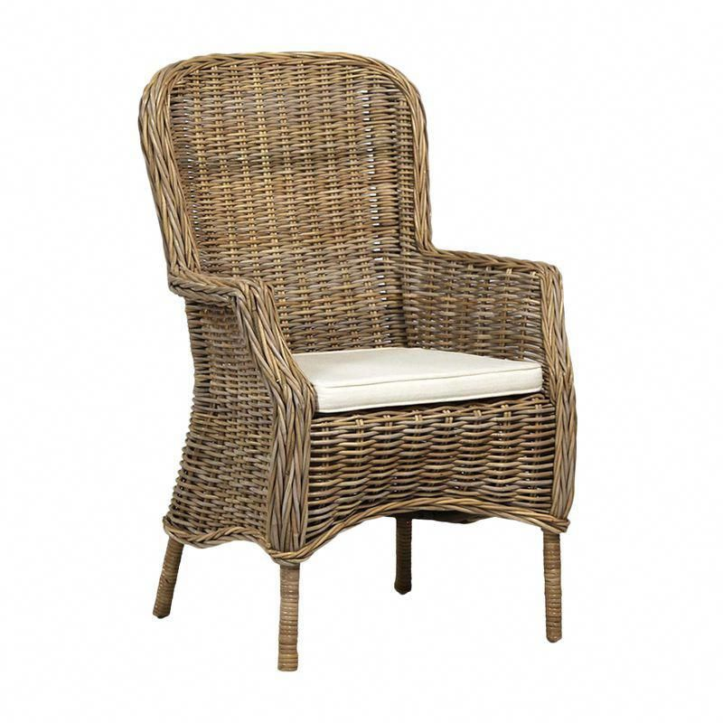 natural rattan dining chair rattandiningchairs chair cushions rh pinterest com
