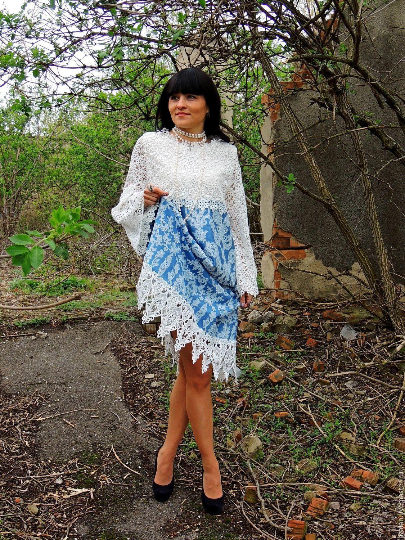 Платье повседневное нарядное