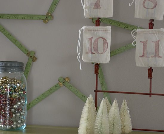 Yet another reason to want a vintage clip rackadvent calendar