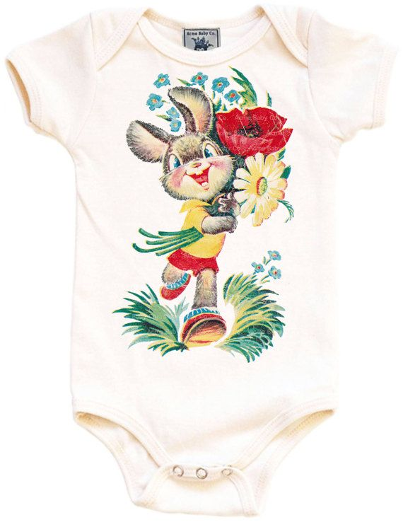 Baby gift organic bodysuit bunny one piece easter bunny baby baby gift organic bodysuit bunny one piece easter by acmebabyco negle Choice Image