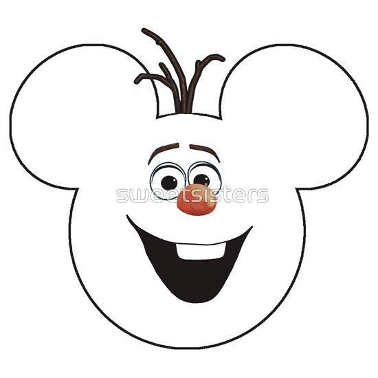 mickey mouse dressed as olaf from frozen disney ideas mickey rh pinterest com