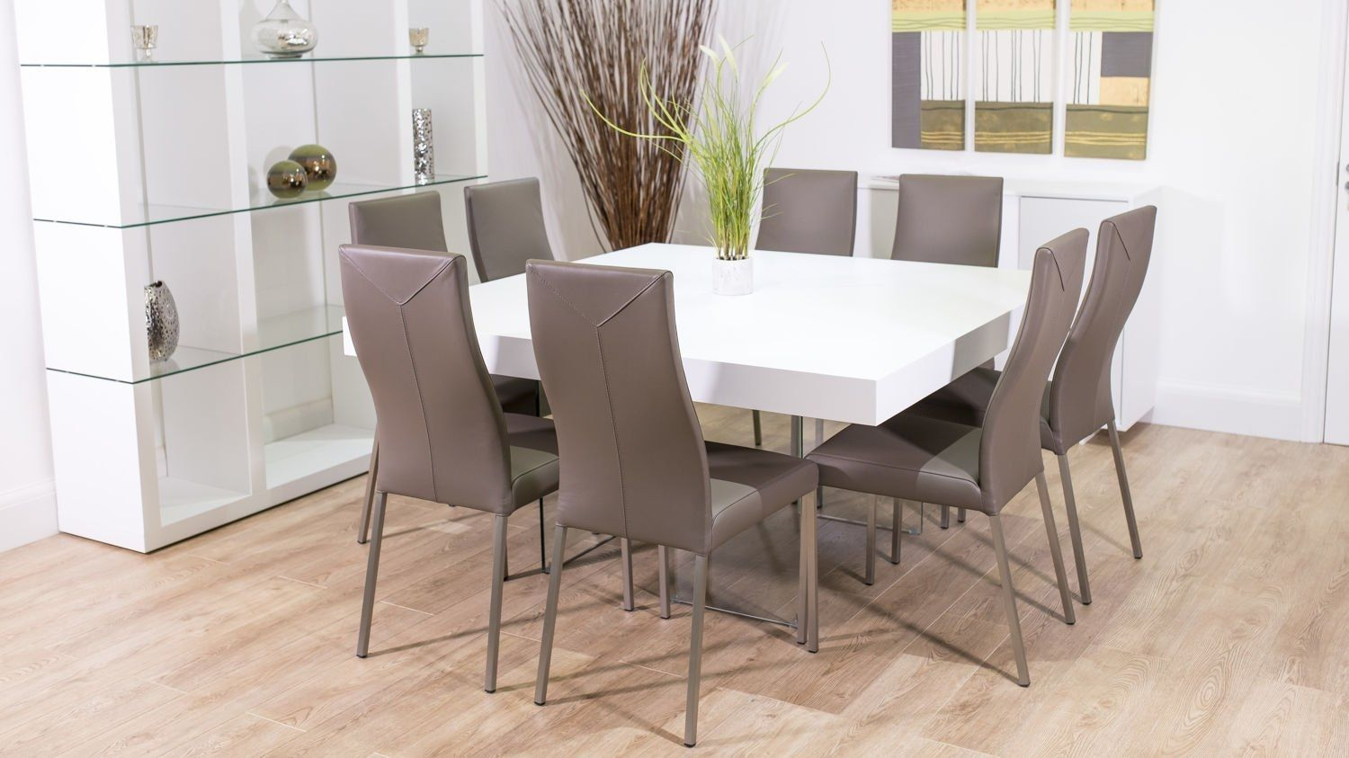 Contemporary Square Dining Table Sets Contemporary Square