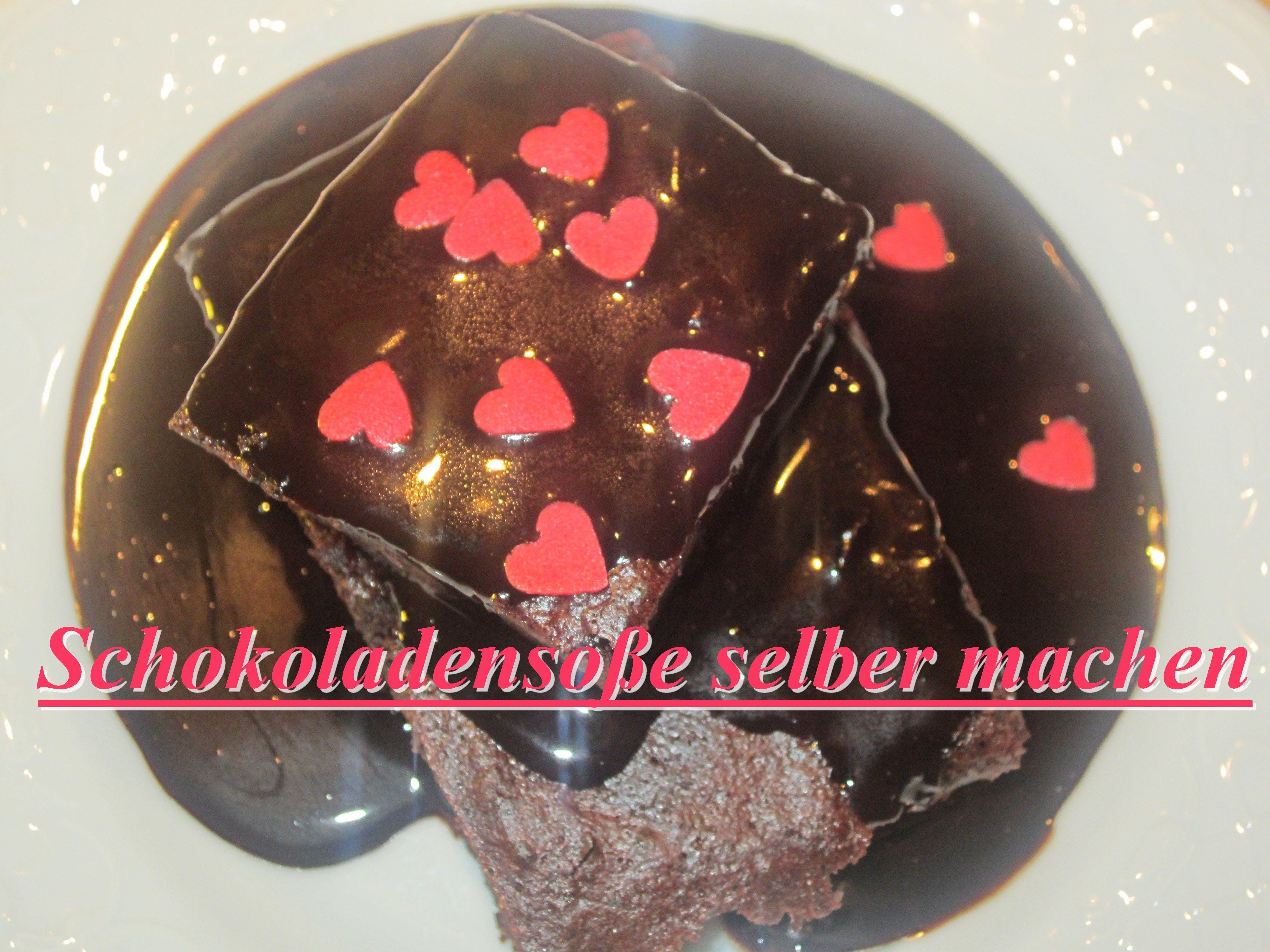 Schokoladensoße in 5 Minuten selber machen | DIY | Dessertsauce Rezept |...