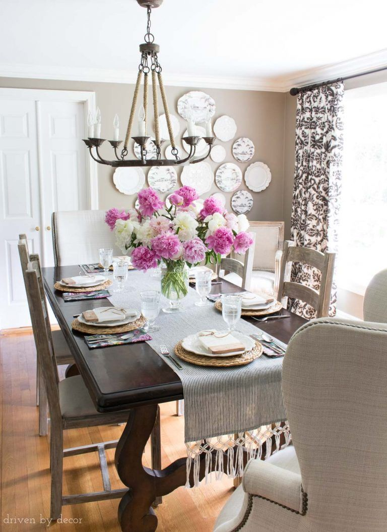 classic dining room with dark gray walls rope chandelier ladder rh pinterest com