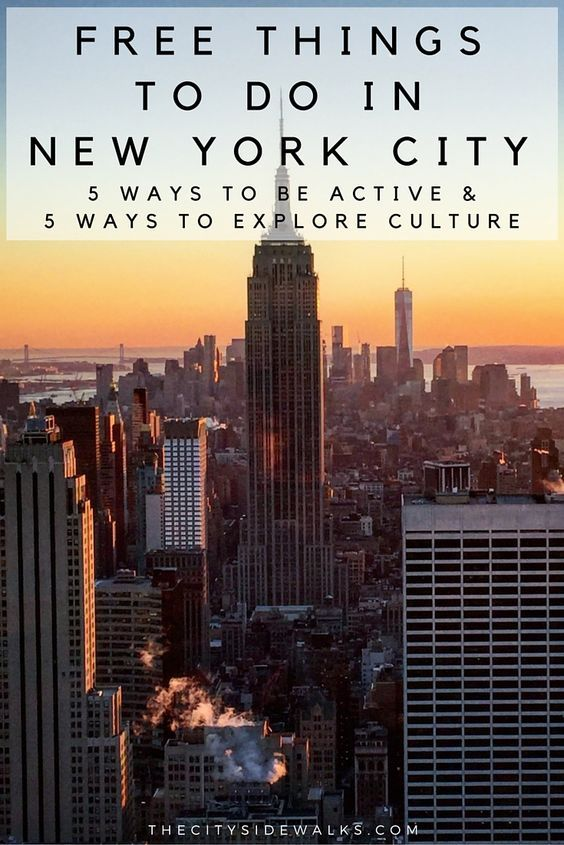 Free things to do in new york city manhattan viajes y for New york city stuff to do
