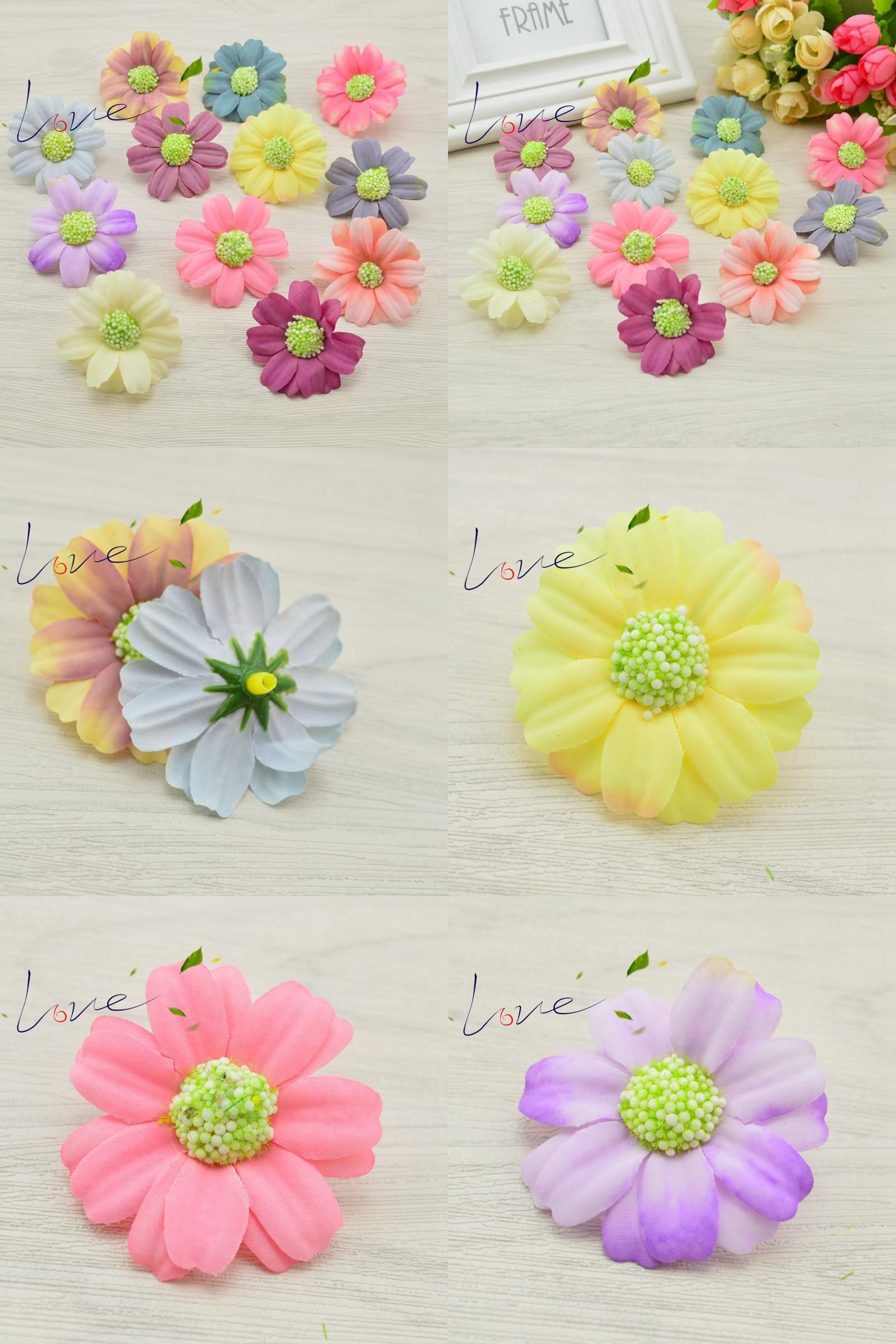Visit To Buy 10 Pcs Cheap Artificial Daisy Flower Bride Wedding